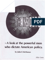 The Insiders - A Look at the Powerful Men Who Dictate American Policy - SUMMARY