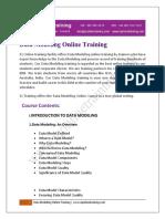 Learning Data Modeling Training Video, Data Modeling Online Tutorial