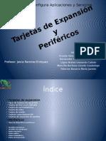 Tarjetas de Expansión Y Dispositivos Perifericos