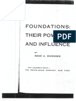Foundations- Their Power and Influence Rene a. Wormser -26