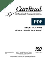 Cardinal weight indicator 225