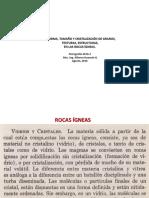 PETRO. Texturas y Estructuras.  Agosto, 2016. AEHG.