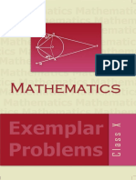 Std'10 - Mathematics - Exemplar Problems