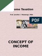 Philippine Income Taxation - Income