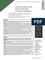Fuentes de Estrés en La Práctica Clínica Evolucion