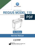 Regius 110 Service Manual