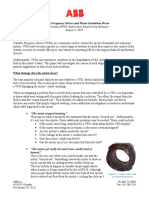 Variable Frequency Drives and Motor Insulation Stress