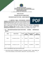 6559 Edital 01-2016 Ribeirão Das Neves - Processo Seletivo Professor Substituto (1)
