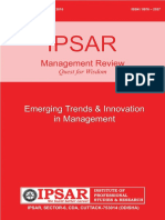 Ipsar Management Review Jan -Jun-2016 (1)