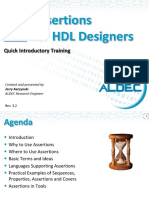 Aldec Assertions for HDL Designers