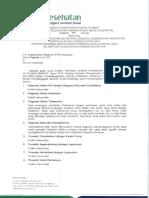 SE No 33 Ttg Penjelasan SE Sekjen Kemenkes HK.03.03-X-1185-2015 Ttg Pedoman Penyelesaian Permasalahan Klaim INA Cbgs