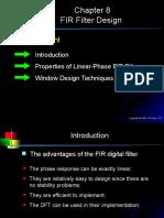 Chap8-FIR Filter Design