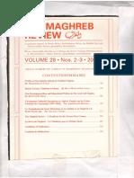 La Transmission Du Savoir Historique en Al-Andalous et au Maghreb Médiéval