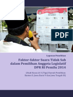 46 LP3ES - Laporan Penelitian Faktor-Faktor Suara Tidak Sah Dalam Pemilihan Anggota Legislatif DPR RI Pemilu 2014 Bi