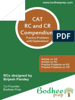CR and RC by Bodhee Prep-127 Pages