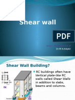 description of Shear Wall
