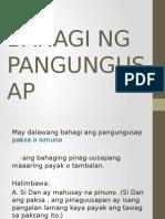 Group 3-Bahagi Ng Pangungusap