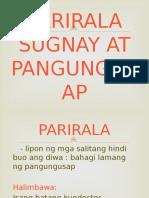 Group 3-Parirala Sugnay at Pangungusap