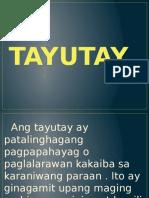 Group 3 Tayutay