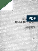 Advanced Etudes for Trombone