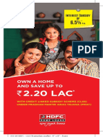 HDFC  SPECIAL SCHEME FOR HOUSING LOAN