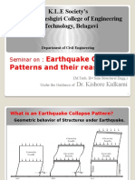 Earthquake collapse pattern