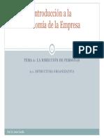 Tema 2.1_La dirección de personas_Estructura organizativa(1)
