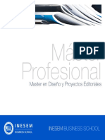 Master en Diseño y Proyectos Editoriales