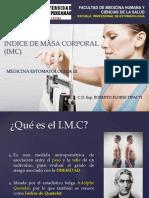 Calculo del IMC