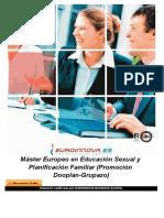 Máster Europeo en Educación Sexual y Planificación Familiar (Promoción Dooplan-Grupazo)