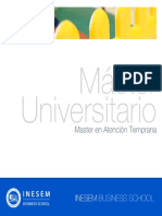 Master en Atención Temprana (Titulación Universitaria + 60 Créditos ECTS)
