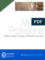 Master en Bolsa y Trading en Mercados Financieros