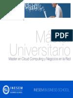 Master en Cloud Computing y Negocios en la Red (Titulación Universitaria + 60 Créditos ECTS)