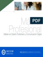 Máster en Diseño Publicitario y Comunicación Digital