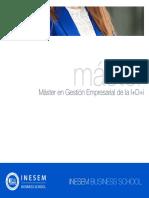 Máster en Gestión Empresarial de la I+D+i