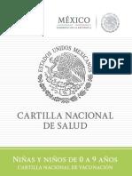 Cartilla Niños Completa 2015