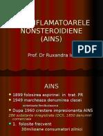 Antiinflamatoarele Nonsteroidiene (Ains) 2016