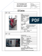 CIP machine Specification