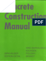 Concrete Construction Manual