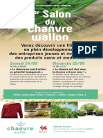 1er Salon du Chanvre Wallon 24 & 25 Septembre 2016