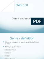 ENGL131 Genre Powerpoint 2014 Copy