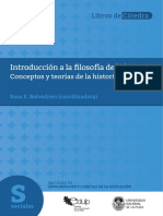 Belvedresi Rosa coord. Introduccion a la filosofía de la historia. Conceptos y teorías de la historia..pdf
