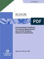 ISA Standard 71.04-1985