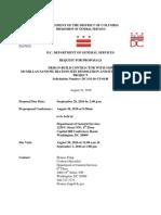 DGS Request for Proposals for McMillian Design-Build 2016 08 24