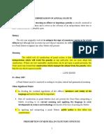 Interpretation of Penal Statute