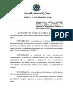 Resolução 11 CNJ - Conceito Prática Jurídica