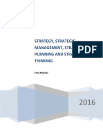 Strategy_ Strategic Planning_ Strategic Thinking and Strategic Management