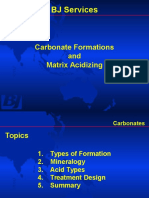 Carbonates and Matrix Acidizing