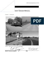 Pavement Design Manual