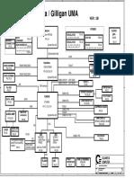 Dell Inspiron 1520 Quanta Fm5 Uma r2b Schematics